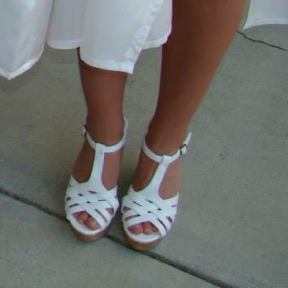 White Shoes for Graduation